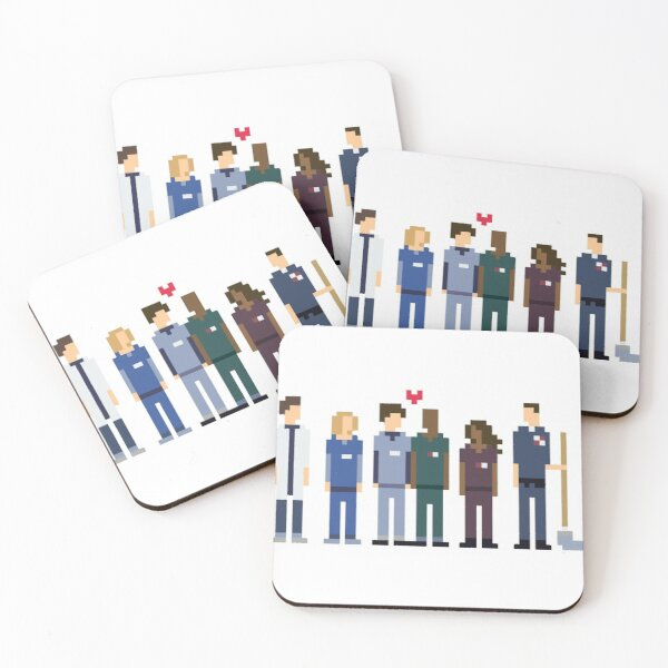 Scrubs, TV series Coasters (Set of 4)