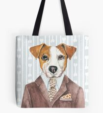 Jack Russell Dressed for Dinner Tote Bag