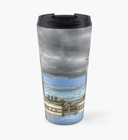 the Kelpies , Helix Park , Grangemouth  654 Travel Mug