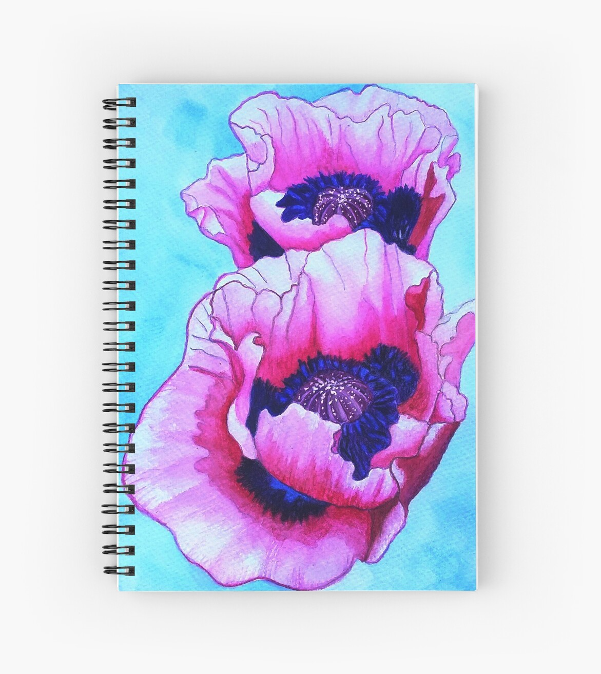 Pink pansies, pink and purple flower by SonjaT