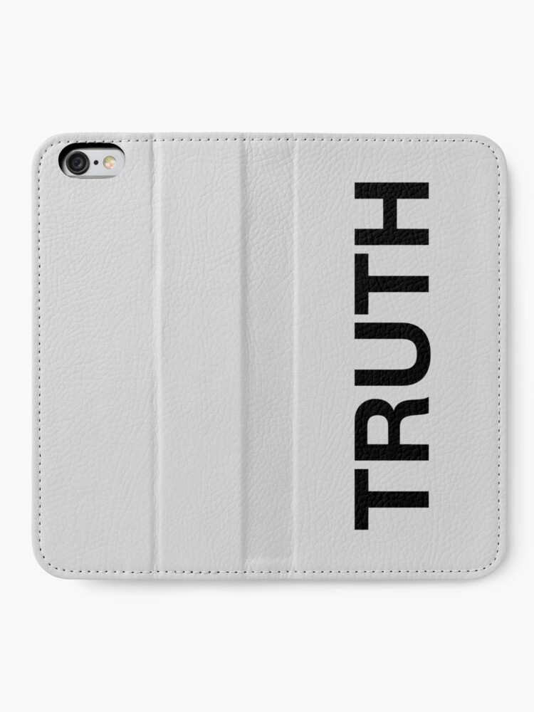 Alternate view of Truth iPhone Wallet