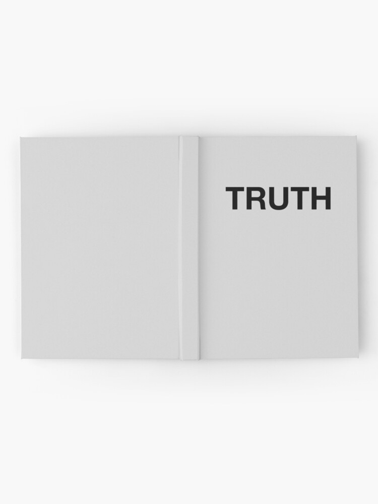 Alternate view of Truth Hardcover Journal