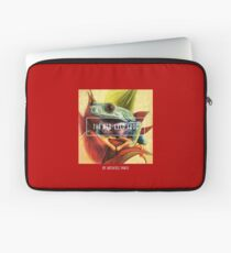 The Red-Eyed Frog by Art4feel Paris (red) Laptop Sleeve