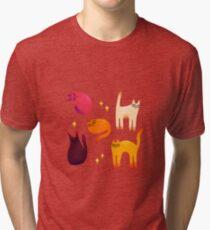 grumpy cats 1 Tri-blend T-Shirt