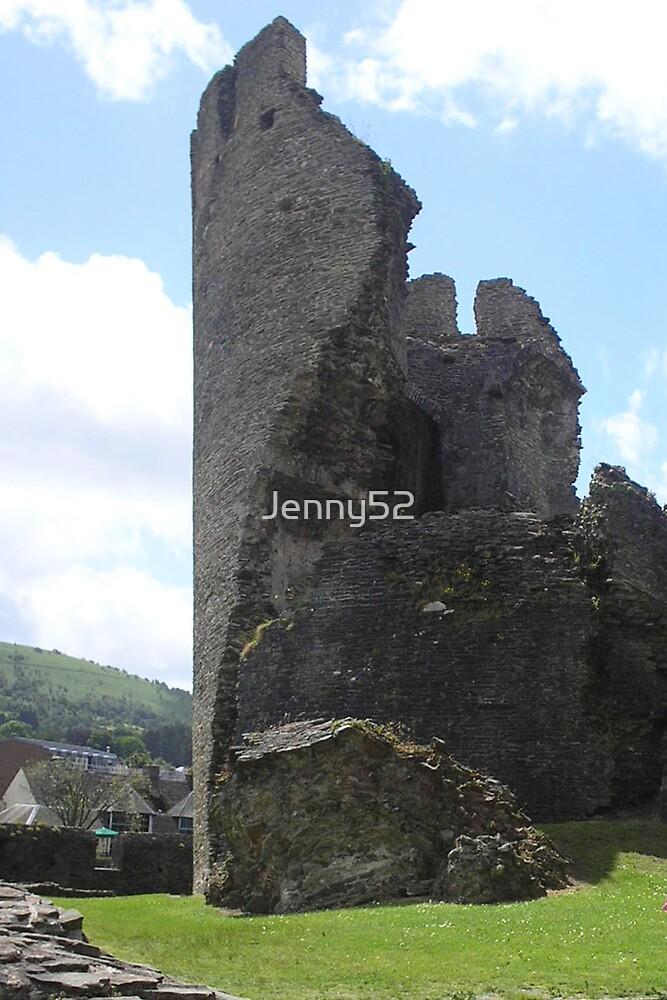 Caerphilly castle by Jenny52