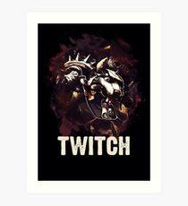 League of Legends TWITCH Art Print