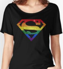 Super Pride - Gay Women's Relaxed Fit T-Shirt