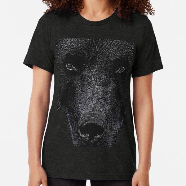 Bear Stare  Tri-blend T-Shirt
