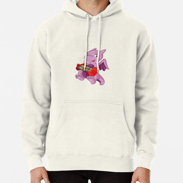 Baking Dragon Pullover Hoodie