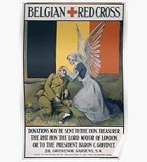 Belgian Red Cross 665 Poster