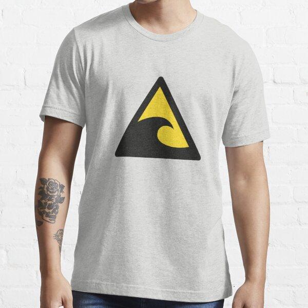 Tsunami Warning Sign Essential T-Shirt