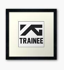 YG Trainee Framed Print