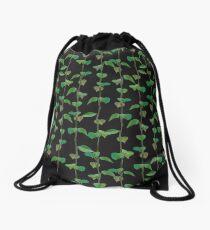 Leaves Net Drawstring Bag