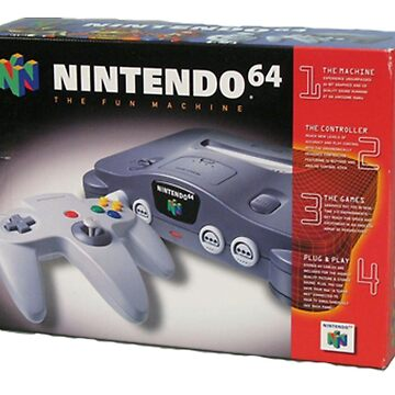 Nintendo 64 box by nathanglab