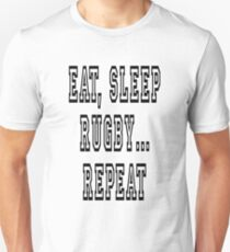 EAT, SLEEP, RUGBY, REPEAT T-Shirt