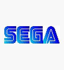 Sega Pixels Photographic Print