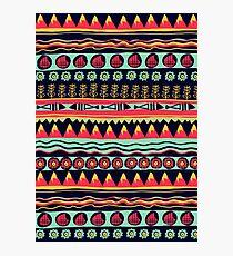 Scandinavian pattern  Photographic Print