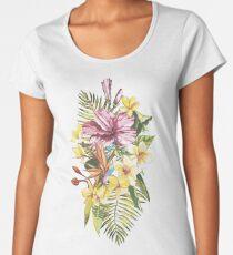 Exotic flowers Women's Premium T-Shirt