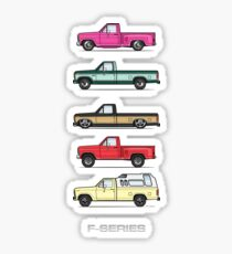 collection of 80's Sticker
