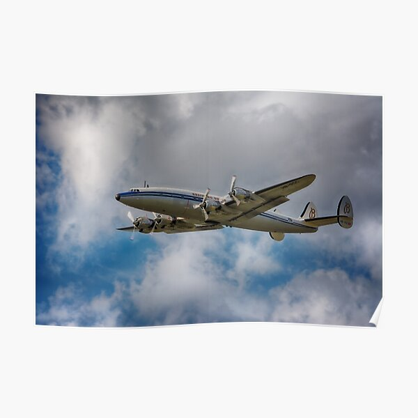 Lockheed L-1049 Super Constellation Poster