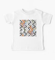 Strelitzia geometric pattern Kids Clothes