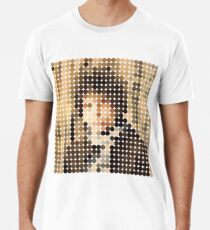 Bob Dylan, Blonde On Blonde, Benday Dots Men's Premium T-Shirt