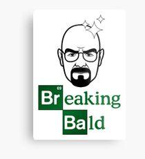Breaking Bald Metal Print