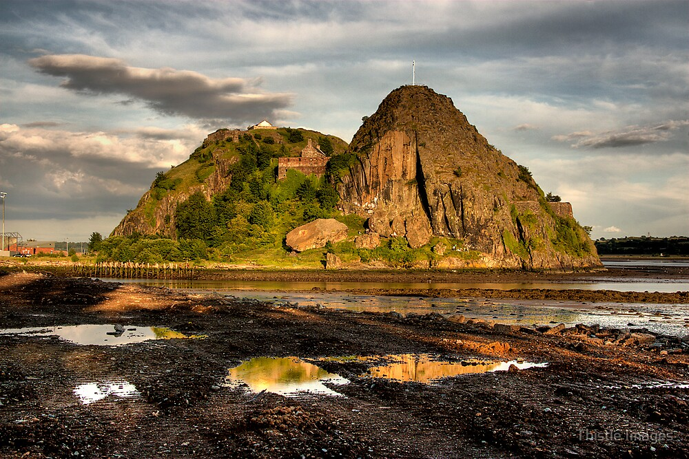 Dumbarton Castle by Thistle Images