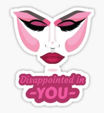 Drag Race - Disappointed Sticker