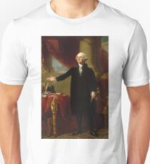 Vintage George Washington Portrait Painting 2  T-Shirt