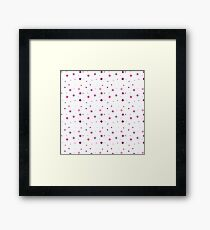 Beautiful playful little squares Framed Print