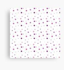 Beautiful playful little squares Canvas Print