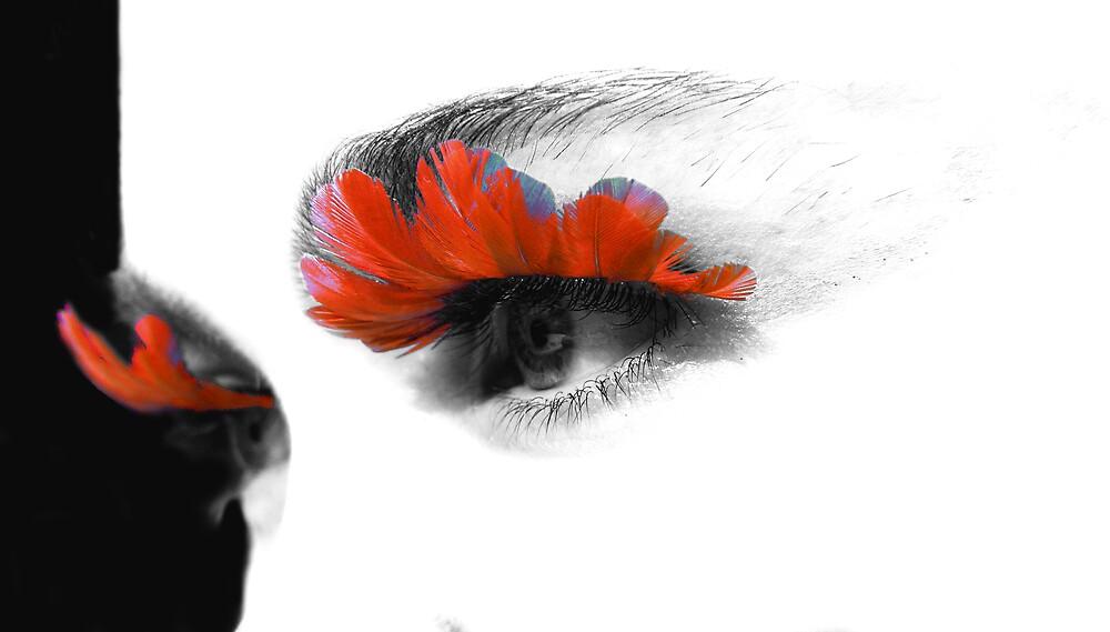 Party Eyes - Orange by SNAPPYDAVE