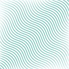 Beautiful wavy light blue modern lines by Axel Savvides