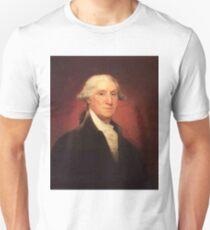 Vintage George Washington Portrait Painting T-Shirt