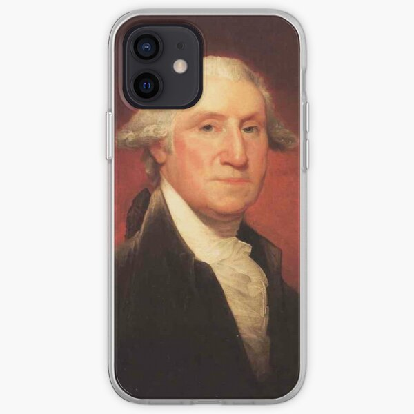 Vintage George Washington Portrait Painting iPhone Soft Case
