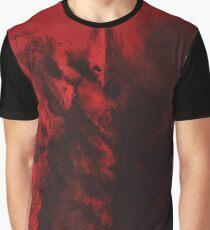 Red Warrior Graphic T-Shirt