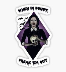 Sharon Needles Addams Sticker