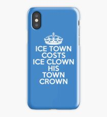 ICE TOWN iPhone Case/Skin