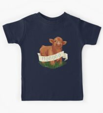 Baby Highland Cow Kids Clothes