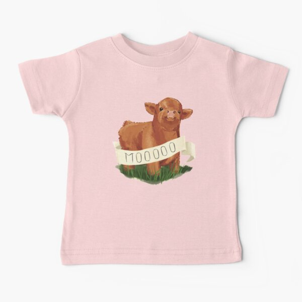 Baby Highland Cow Baby T-Shirt