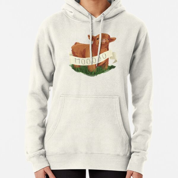 Baby Highland Cow Pullover Hoodie