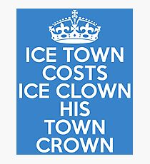 ICE TOWN Photographic Print