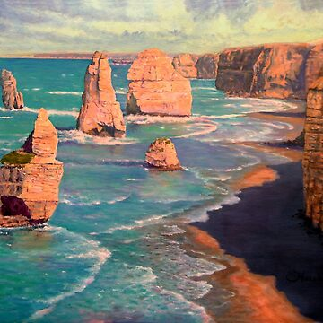 The 12 Apostles, Australia by marshstudio