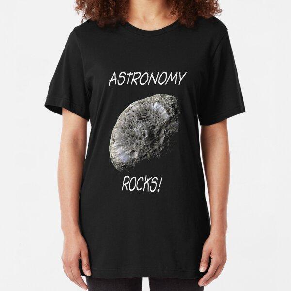 Astronomy Rocks! Slim Fit T-Shirt