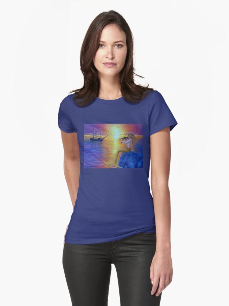 Enchanting Performance Womens T-Shirt Front