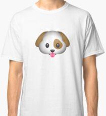 Cute And Cuddly Dog Emoji Classic T-Shirt