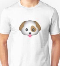 Cute And Cuddly Dog Emoji T-Shirt