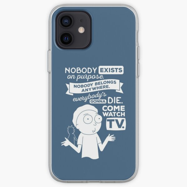 Rick and Morty Schwifty Wubba Lubba Fair Use Nobody Exists on Purpose iPhone Soft Case