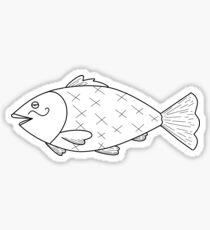 Dumb Fish Sticker
